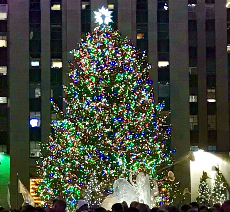 Big Christmas Tree at Rockefeller Center